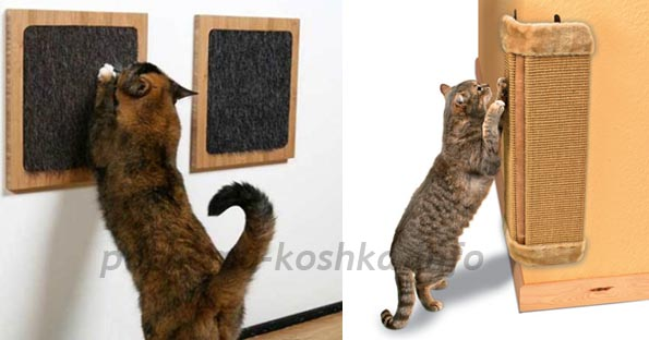 Когтеточка для кошки своими руками с фото