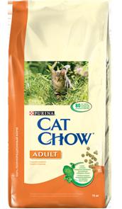 Корм Сat chow для взрослых животных