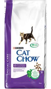 Сat chow для пушистых котов