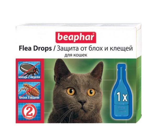 Препарат от блох и клещей для кошек
