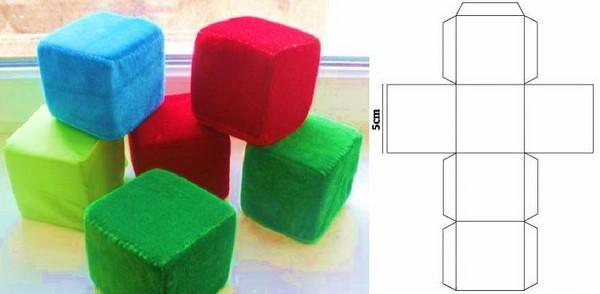 Кошачьи кубики